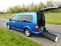 2012 Volkswagen Caddy Maxi 1.6 Tdi Automatic 7 Seats WHEELCHAIR ACCESSIBLE WAV
