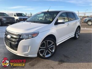 2013 Ford EDGE Sport-NAV-PANO-LEATHER
