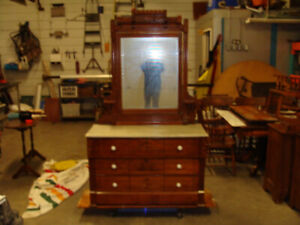 Antique Eastlake dresser