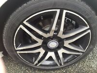 Genuine Mercedes AMG alloys 18