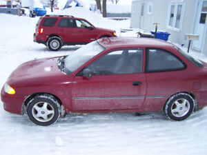 1999 Hyundai Accent Hatchback
