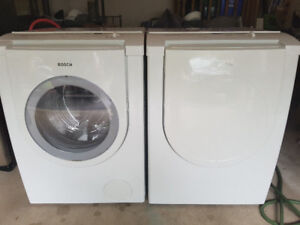 """german brand bosch white 27"""" washer electric dryer frontload"""