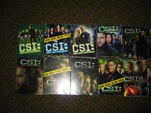 CSI  Crime Scene Investigation Season 1 to 12  mint condition