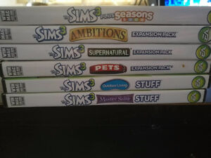 Sims3  PC Games(6 disc)