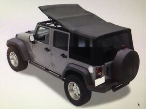 Jeep Soft Top and Rock Sliders