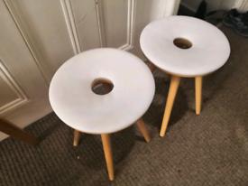 Orthopedic doughnut stool x2