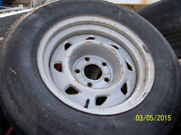 S -10 Blazer 15in GM wheel and tire 215/75r15