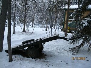 Off Road Utility Trailer -- holds 1,000 lb.