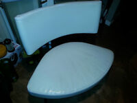 Modern White real Leather chair/lounge/gaming chair