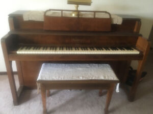 Wadsworth piano made by Mason and Risch for sale