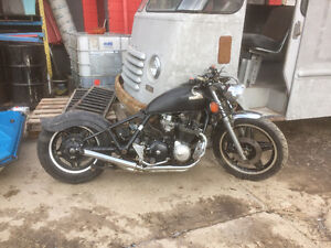Custom 900 Honda bobber  project