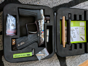 High end paintball markers. Cs1