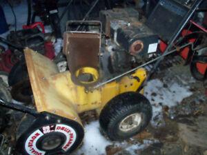 8 hp snowblower (trade)