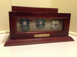 Toronto Maple Leafs NHL Wooden Pen Holder/Desk Organizer