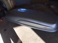 BMW Mini Countryman roof box and bars