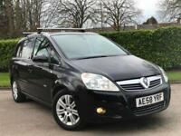 2008 Vauxhall Zafira 1.9CDTi Design***LOW MILES 59,858 + 7 SEATER + HPI CLEAR***