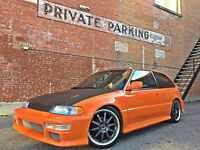AWESOME 89 Civic Si (Modified)