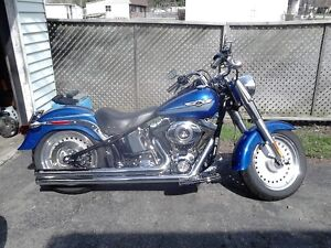 2007 HARLEY DAVIDSON FATBOY 96 CUBIC IN. 6 SPEED London Ontario image 10