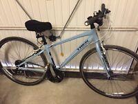Trek 7.2 ladies hybrid bike