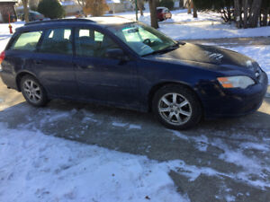 2007 Subaru Legacy Wagon AWD (SAFETIED) $4,500 Taxes Included