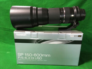 150-600mm Tamron Lens for Sony - F/5-6.3