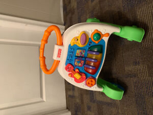 Fisher Price sit to stand walker