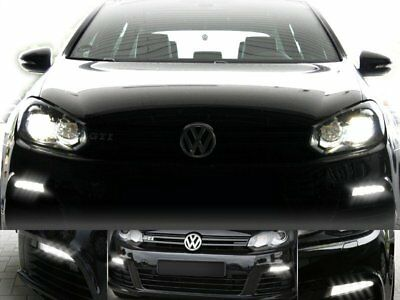 Original Kufatec Wiring Adapter LED R Daytime Running Lights for Vw Golf 6 With