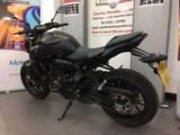 YAMAHA MT07 ABS EX DEMO WITH ACCESSORIES 0% FINANCE AND LOW DEPOSIT