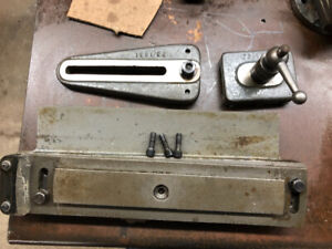 Myford ML7 super 7 lathe metal parts and accessories