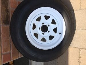 205 75R 15 RV trailer tire and rim