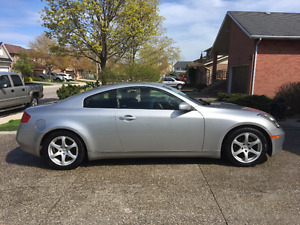 2003 Infiniti G35 w/ leather Coupe (2 door)