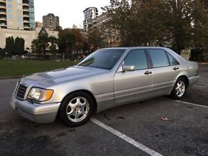 For sale 1999 Mercedes-Benz S320, Silver with Black, local