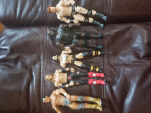 WWE Action Figures 5 for 20 firm