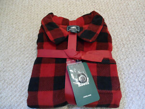 Roots Kids BRAND NEW Fleece Button Up Nightie - Sz 14