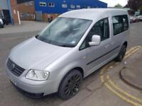 Volkswagen Caddy Silver Wheelchair Access Van Diesel *FINANCE AVAILABLE*Auto