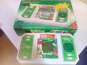 New in original box Head to Head Baseball game from the 1980s
