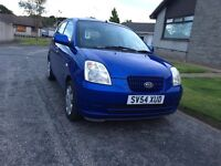 kia picanto 2004 only 40K MILES 1YEAR MOT and 1 lady owner full service