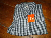 LONG SLEEVE PLAID SHIRT--NEW WITH TAGS!