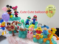 Memorable balloon twisting party! balloon twister