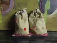 Handcrafted Drawstring Pouches