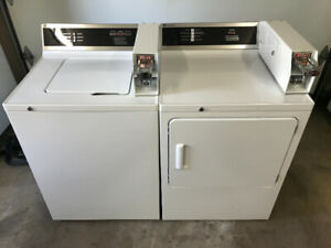 General Electric Coin Operated Washer & Dryer Set