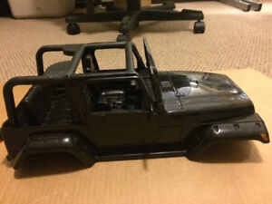 1/10 RC Jeep tj hard body