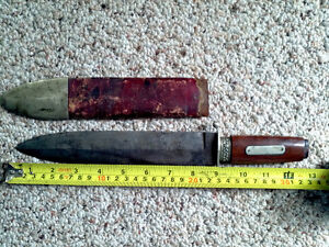 early 1800's knife