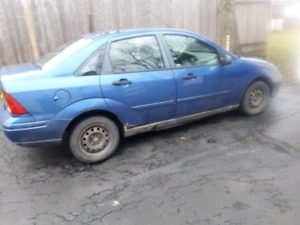 $500-2004 Ford Focus-Winter beater, inspected to May 2018