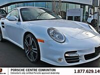 2011 Porsche 911 Turbo - White on Black - Coupe - PDK