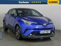 2017 Toyota C-HR 1.8 Hybrid Dynamic 5dr CVT - SUV 5 Seats SUV Petrol/Electric Hy