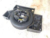 Skoda yeti spare wheel kit