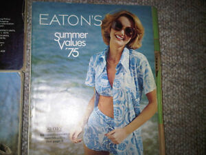 Eaton's Catalogues 1974-1975 (Spring, Summer, Christmas, etc) Stratford Kitchener Area image 3