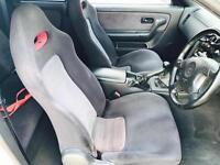 1997 P reg Nissan Skyline R33 2.6 GTR V SPEC + WHITE + Spec 2 + Body kit