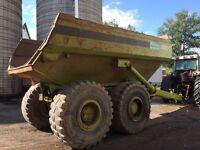 30 ton Terex off road dump trailer